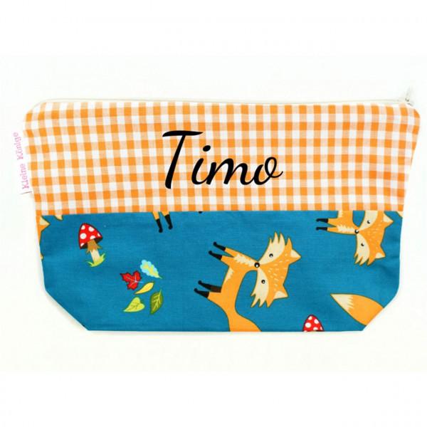 Kinder Kulturtasche mit Fuchs-Abbildung