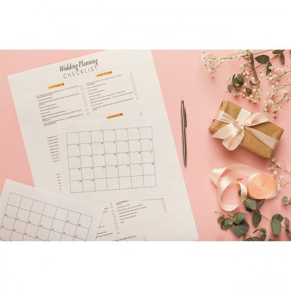 Hochzeitsplanung-Checkliste