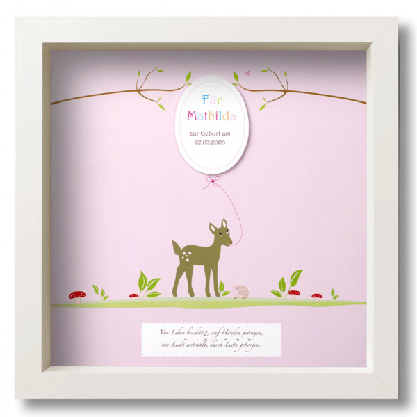 "Individualisierter Rahmen ""Bambi"""