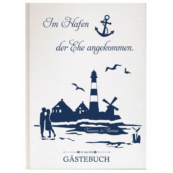 Gästebuch zur Hochzeit | Hafen der Ehe