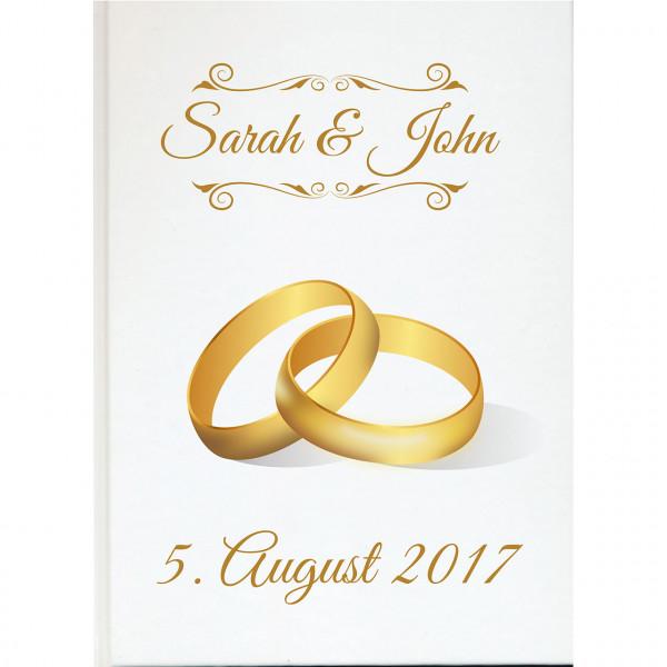 Gästebuch zur Hochzeit | Eheringe