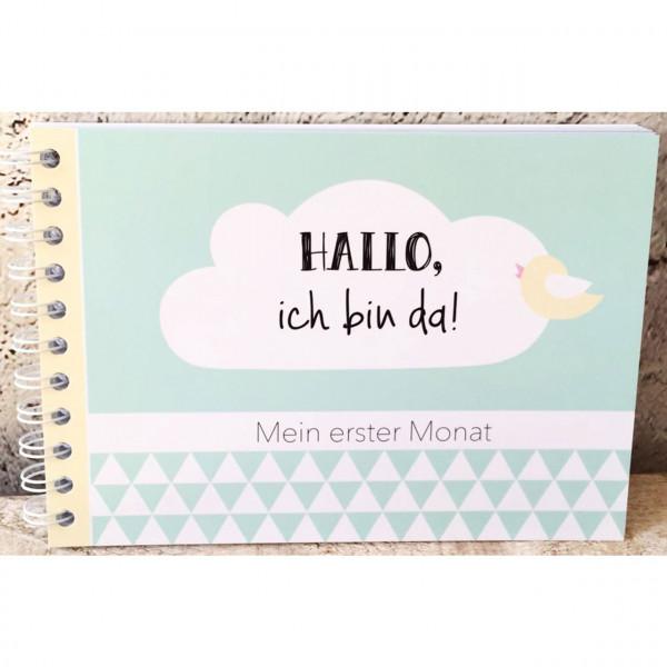 """Baby Tagebuch """"Mein erster Monat"""""""