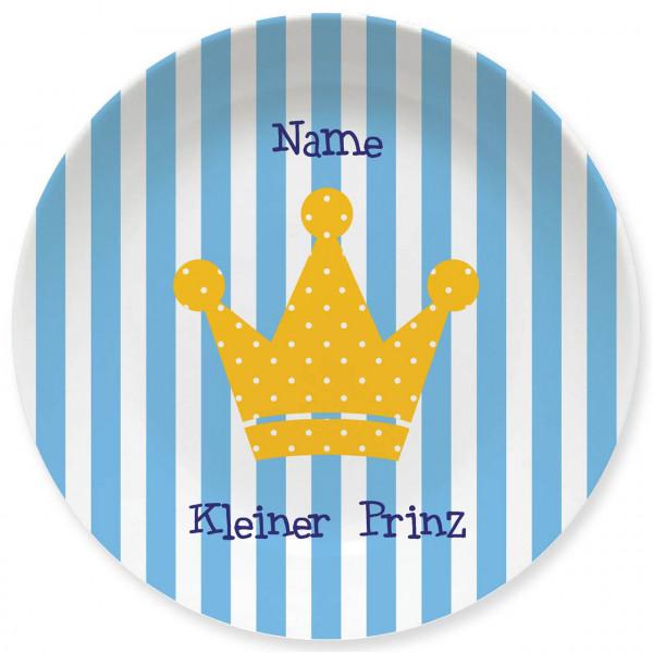 Großer Teller Kleiner Prinz mit Namen personalisiert