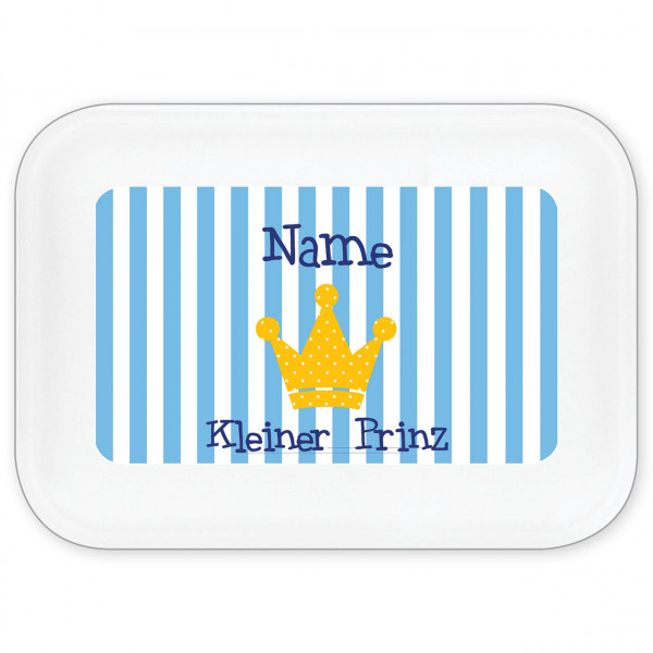 Brotdose Prinz mit Namen personalisiert